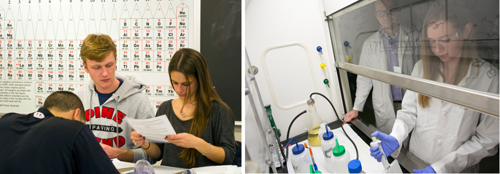 Lehigh University Chemistry - Students in the B.S. program in Chemistry